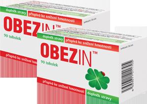 OBEZIN® - měsíční hubnoucí kúra