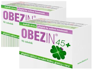 OBEZIN® 45+ měsíční hubnoucí kúra