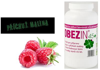 OBEZIN® 45+ shake malina