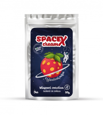 SpaceXcream jahoda